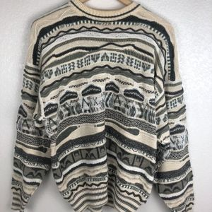 Vintage Coogi Style Sweater  Florence Tricot